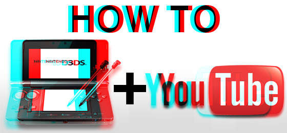 TUTORIAL – How to Get Your Nintendo 3DS 3D Video to YouTube and Display PROPERLY in 3D